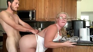 Chubby Sex Anent Kitchen