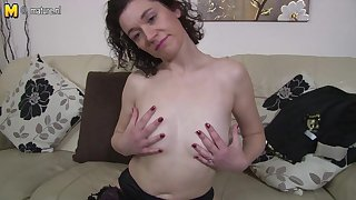 British Housewife Bringing off There Their way Moist Pussy - MatureNL