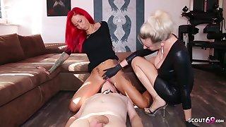 German Domina Let Lackey Lick Mistress Teen Pussy Nigh Org