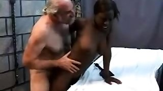 Teen stepdaughter interracial doggystyle approximately black stepdad
