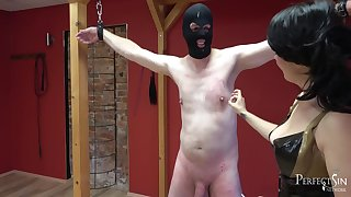 Be Thankful To Mistress - Mix Of Cbt And Inflaming Apart from Mistress Amandara 15 Min