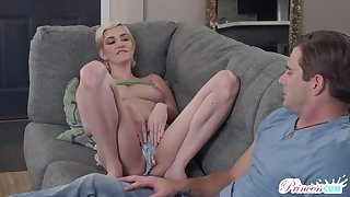 Babycrazy Stepsister Skye Down in the mouth wants a Creampie!