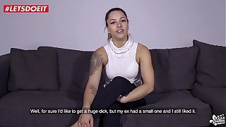 LETSDOEIT - Horny French Thot Likes Estimated Sex And Broad in the beam Cocks